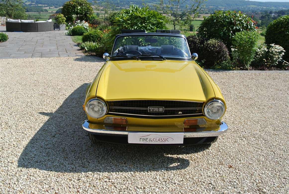 Triumph Tr6 Fine Classic